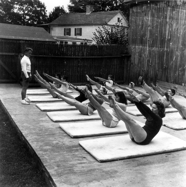 Joseph Pilates at Jacob's Pillow